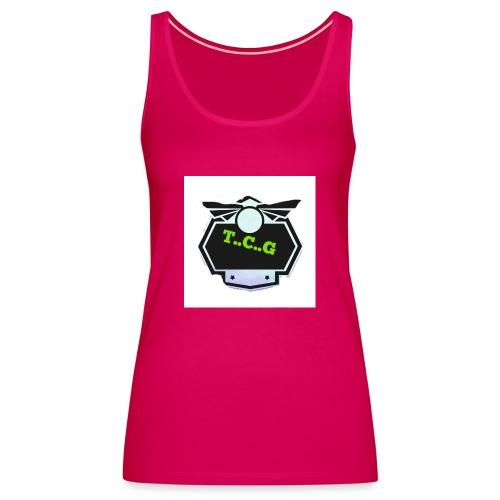 Cool gamer logo - Women's Premium Tank Top
