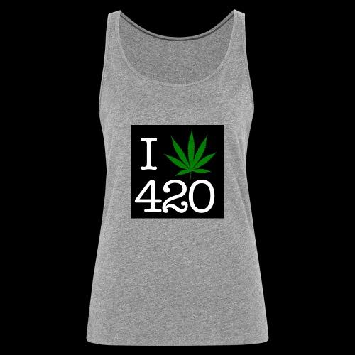 WEED 420 MERCH - Women's Premium Tank Top