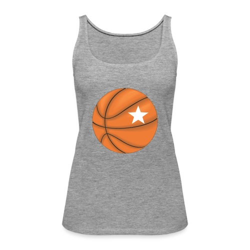 Basketball Star - Vrouwen Premium tank top