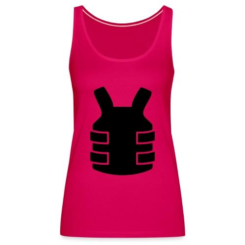 Bullet Proof Design - Women's Premium Tank Top