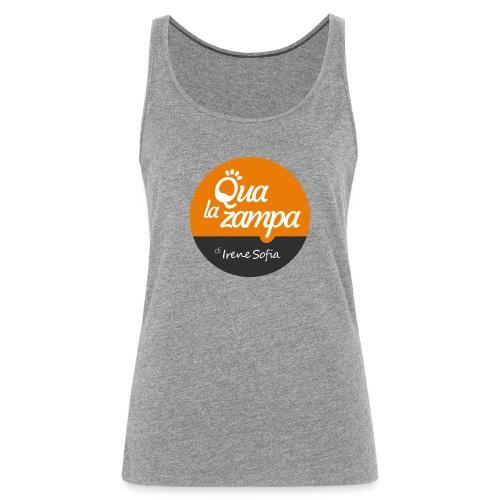 Logo Qua la Zampa - Canotta premium da donna