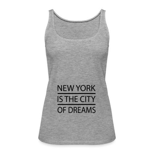New York City - Women's Premium Tank Top