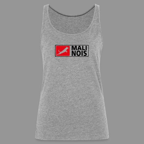 Malinois logo fuer weissen Grund - Frauen Premium Tank Top
