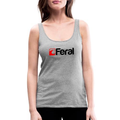 Feral Red Black - Women's Premium Tank Top