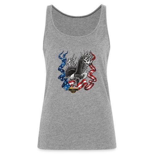 american eagle schrift gross - Frauen Premium Tank Top