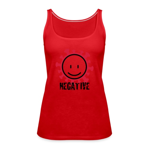negative corona - Vrouwen Premium tank top