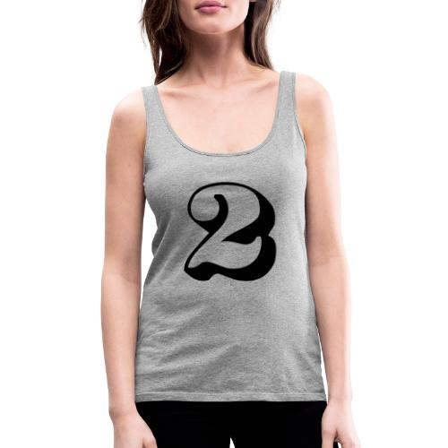 cool number 2 - Vrouwen Premium tank top