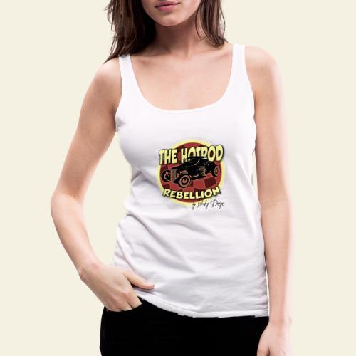 hotrod rebellion - Dame Premium tanktop