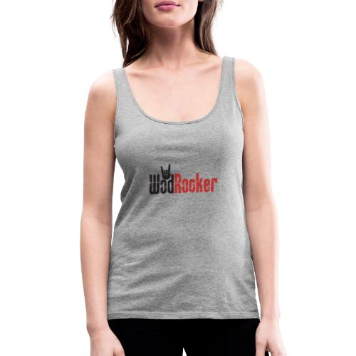 wodrocker logo - Women's Premium Tank Top