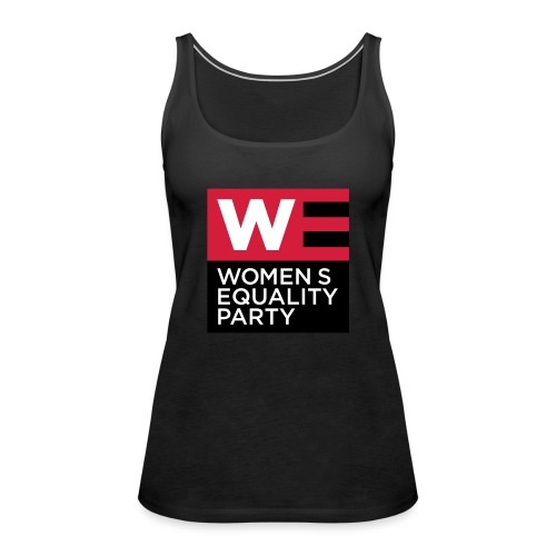 WE_LOGO_RED_CMYK - Women's Premium Tank Top