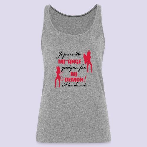 Mi-ange Mi-demon - Women's Premium Tank Top