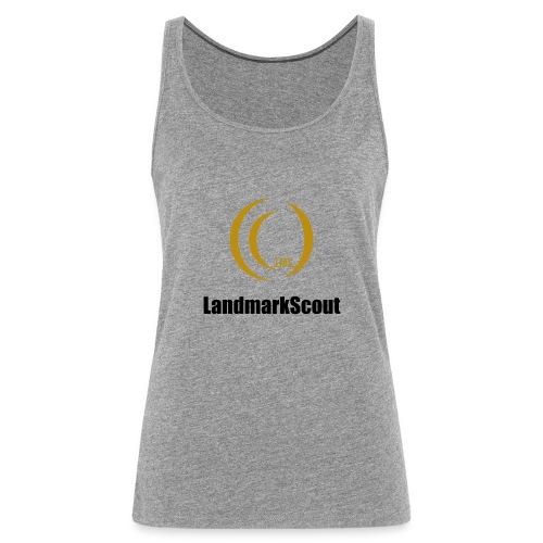 Tshirt Yellow Front logo 2013 png - Women's Premium Tank Top
