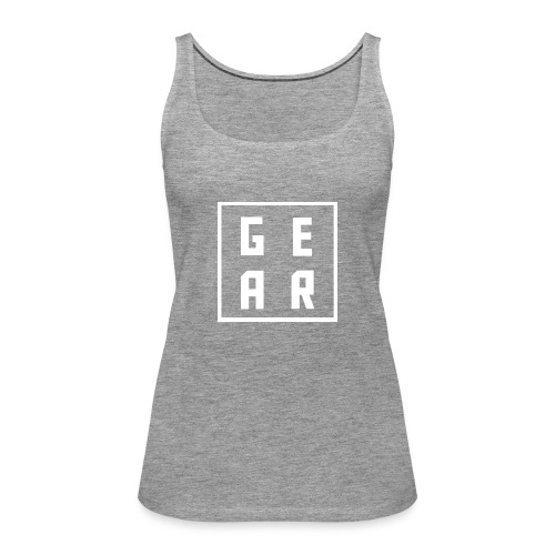 GearWear Sweatshirt   Man Black - Vrouwen Premium tank top