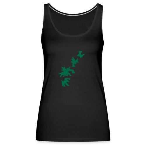 Green Leaves - Frauen Premium Tank Top