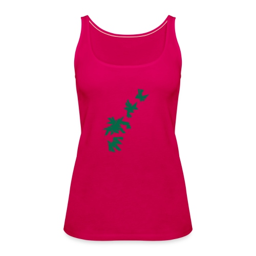 Green Leaves - Frauen Premium Tank Top