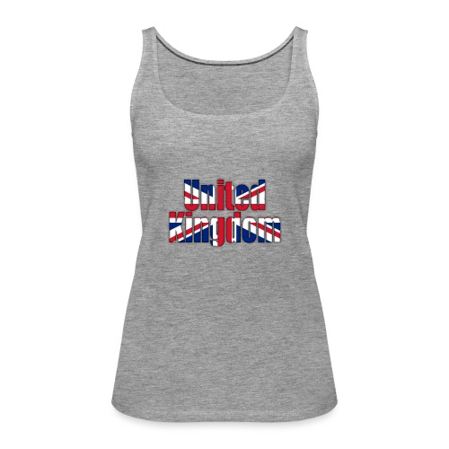 UK - Women's Premium Tank Top