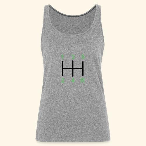 Palanaca de cambios en H. - Camiseta de tirantes premium mujer