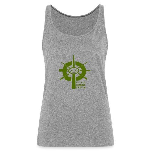 Echochamber Logo grün - Frauen Premium Tank Top