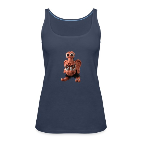 Very positive monster - Women's Premium Tank Top