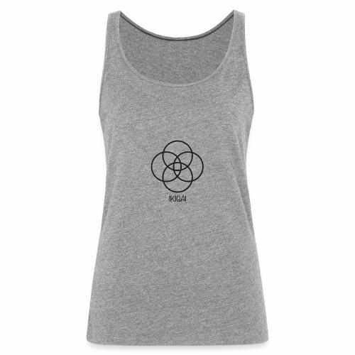 IKIGAI - Camiseta de tirantes premium mujer