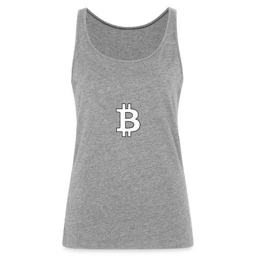 Bitcoin BTC - Camiseta de tirantes premium mujer