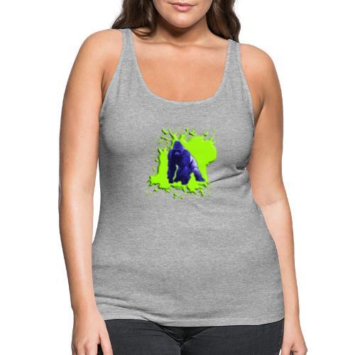 Blue Green Gorilla - Frauen Premium Tank Top