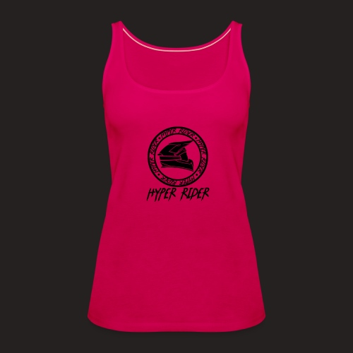 black back - Frauen Premium Tank Top