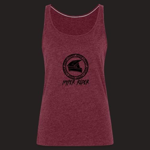 black back - Frauen Premium Tank Top