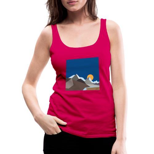 Himalayas - Women's Premium Tank Top