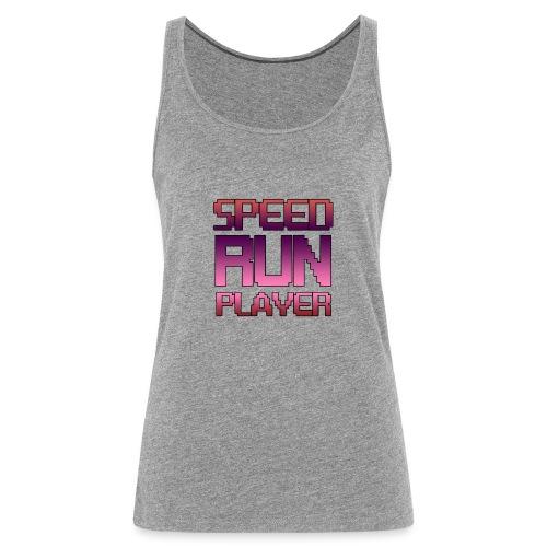 Speedrun player - Débardeur Premium Femme