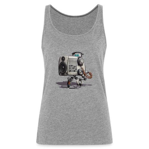 The S.O.U.N.D. Robot! - Dame Premium tanktop