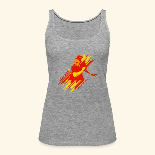 You areyour only limit, Ping pong champs - Frauen Premium Tank Top