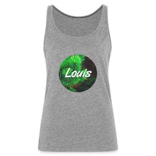 Louis round-logo - Frauen Premium Tank Top
