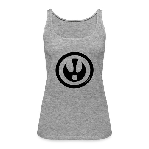 FITTICS DARK BLUE SHIELD - Women's Premium Tank Top