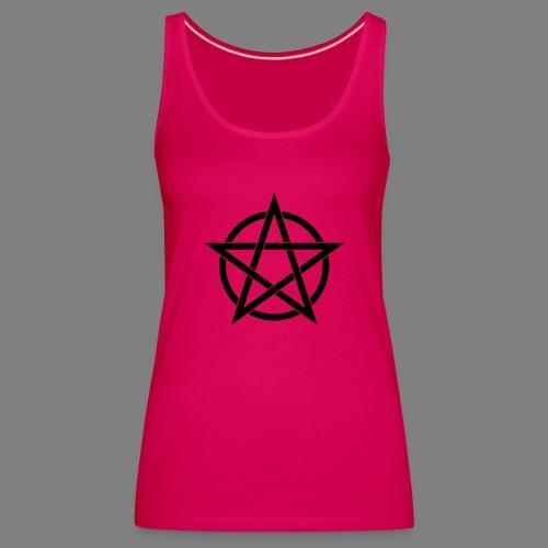 pentagramm - Frauen Premium Tank Top