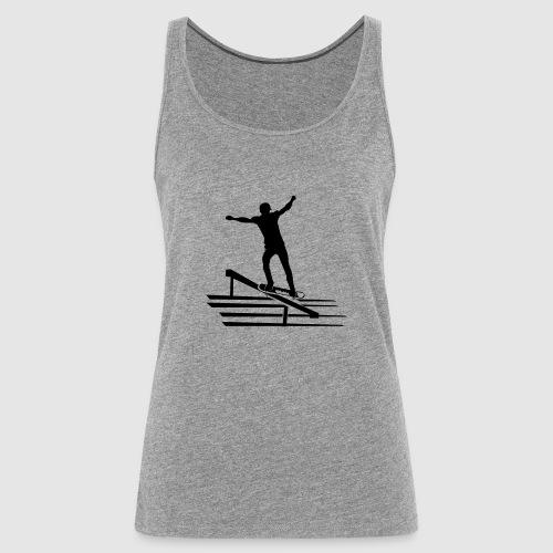 Skateboard - Frauen Premium Tank Top