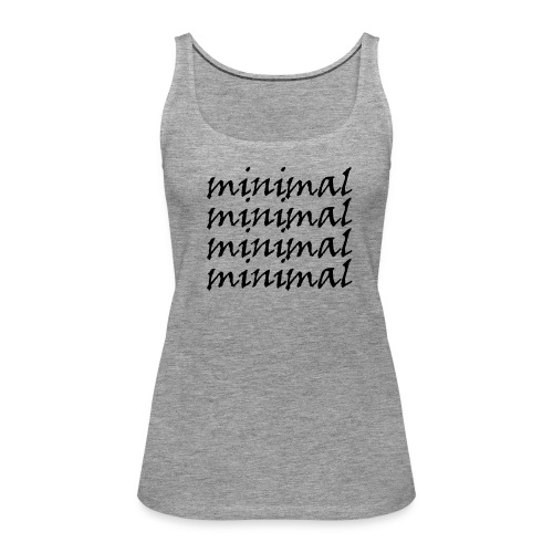 Minimal Design - Frauen Premium Tank Top