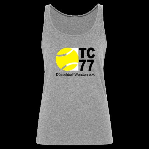 TC 77 Logo - Frauen Premium Tank Top