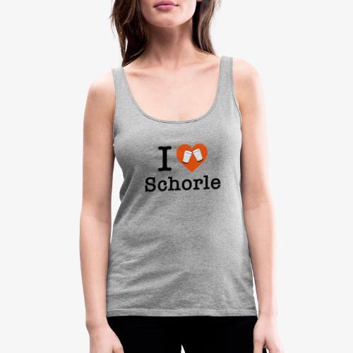 I love Schorle – Dubbeglas - Frauen Premium Tank Top