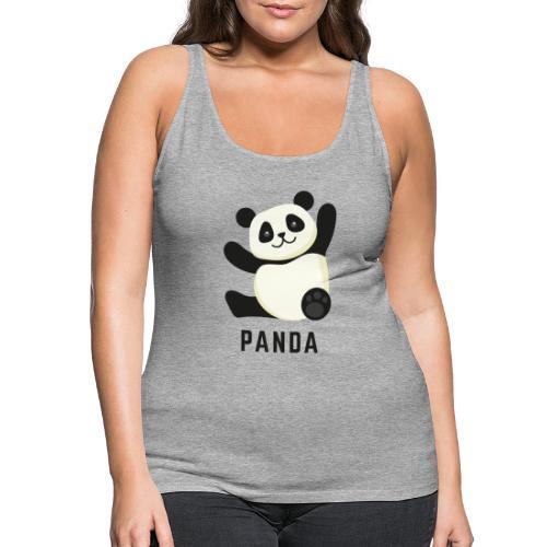 Schattige Panda - Vrouwen Premium tank top