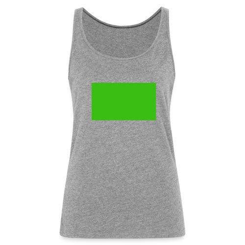 Green Screen - Canotta premium da donna