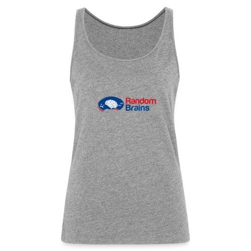 RandomBrains - Camiseta de tirantes premium mujer