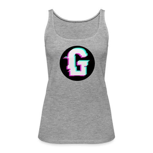 Glitch Logo - Vrouwen Premium tank top