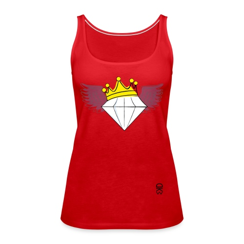 King Diamond Wings - Women's Premium Tank Top