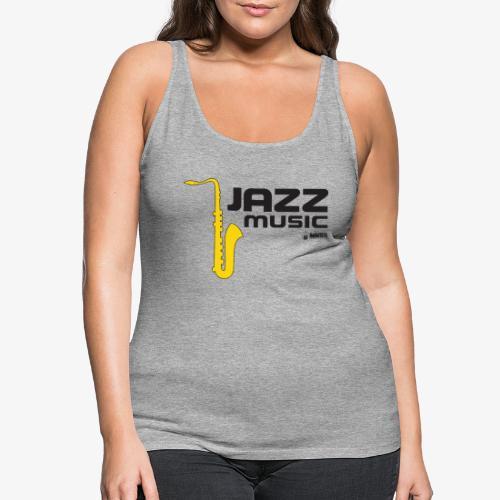 Jazz 002 - Camiseta de tirantes premium mujer