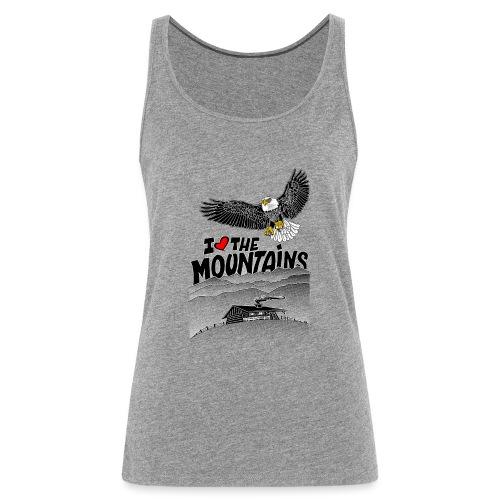 I love The Mountains Adelaar - Vrouwen Premium tank top