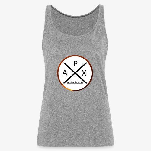 Alphaphoenix logo - Frauen Premium Tank Top