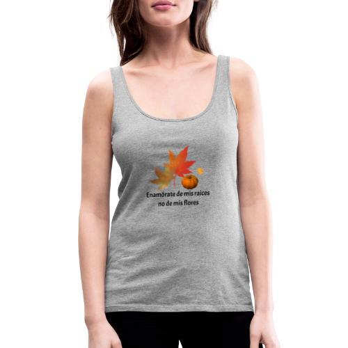 Otoño - Camiseta de tirantes premium mujer