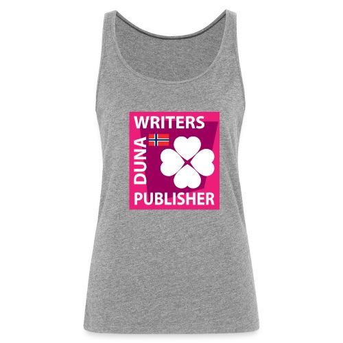 Duna Writers Publisher Pink - Premium singlet for kvinner