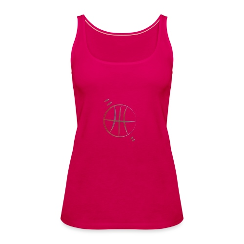 basket - Canotta premium da donna